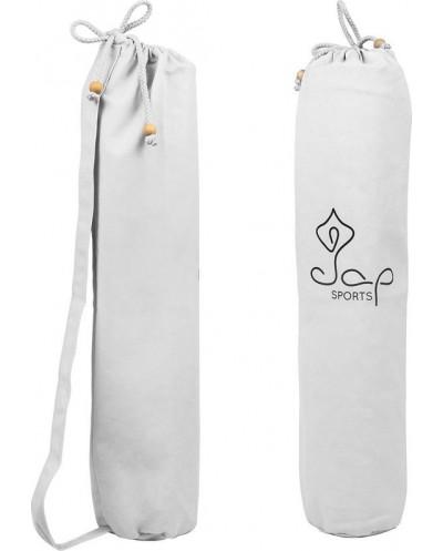 JAP Sports - Yogamat tas - Trekkoord - BCI Katoen - Wit
