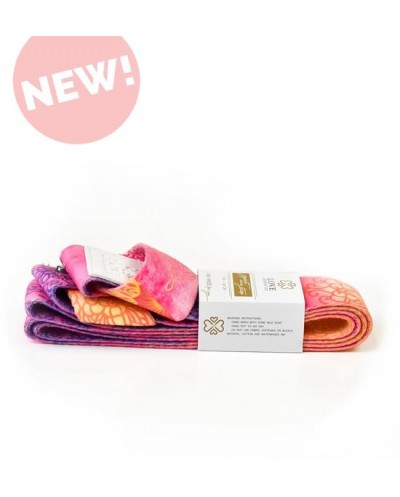 Love Generation ● Draagband voor Yogamat  ●Design Print ● Royal ●Roze