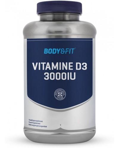 Body & Fit Vitamine D3 - 3000 IU - 180 capsules