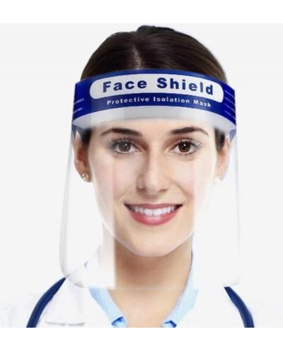 Spatmasker Gezichtscherm - Beschermkap voor gezicht - Transparant