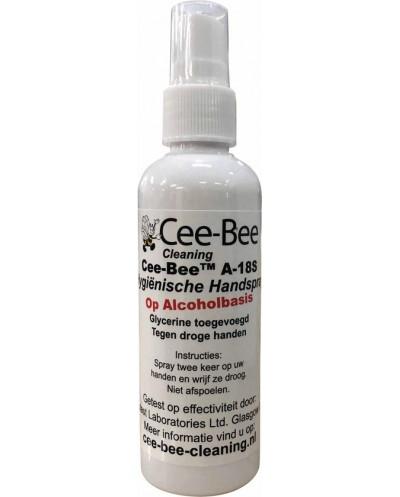 Cee-Bee A-18S - Hygiënische handspray op alcoholbasis - 100 ml