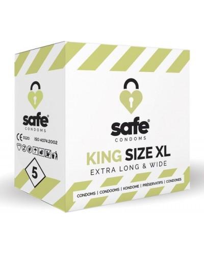 Safe King Size XL Condooms - 5 stuks