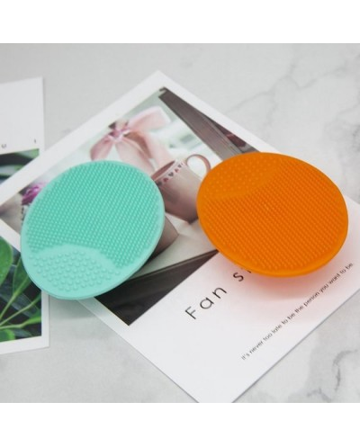 Gezichtsborstel - Siliconen gezichtsreinigingsborstel - Daily Scrubber - Huidverzorgingsbrush - Anti-acne - Mint Green (1 stuk)