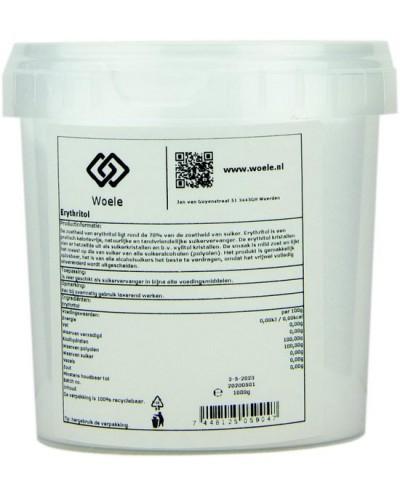 Erythritol 1000g suikervervanger natuurlijke zoetstof