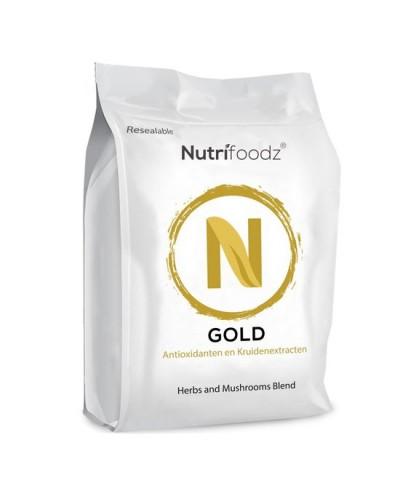 Nutrifoodz Gold® - Golden Milk-thee - 100% Vegan - 60 porties
